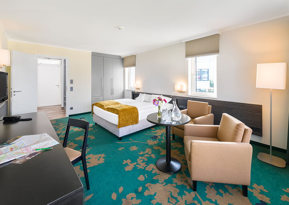 Economy Your Hotel In Stuttgart With Large Rooms To Relax In